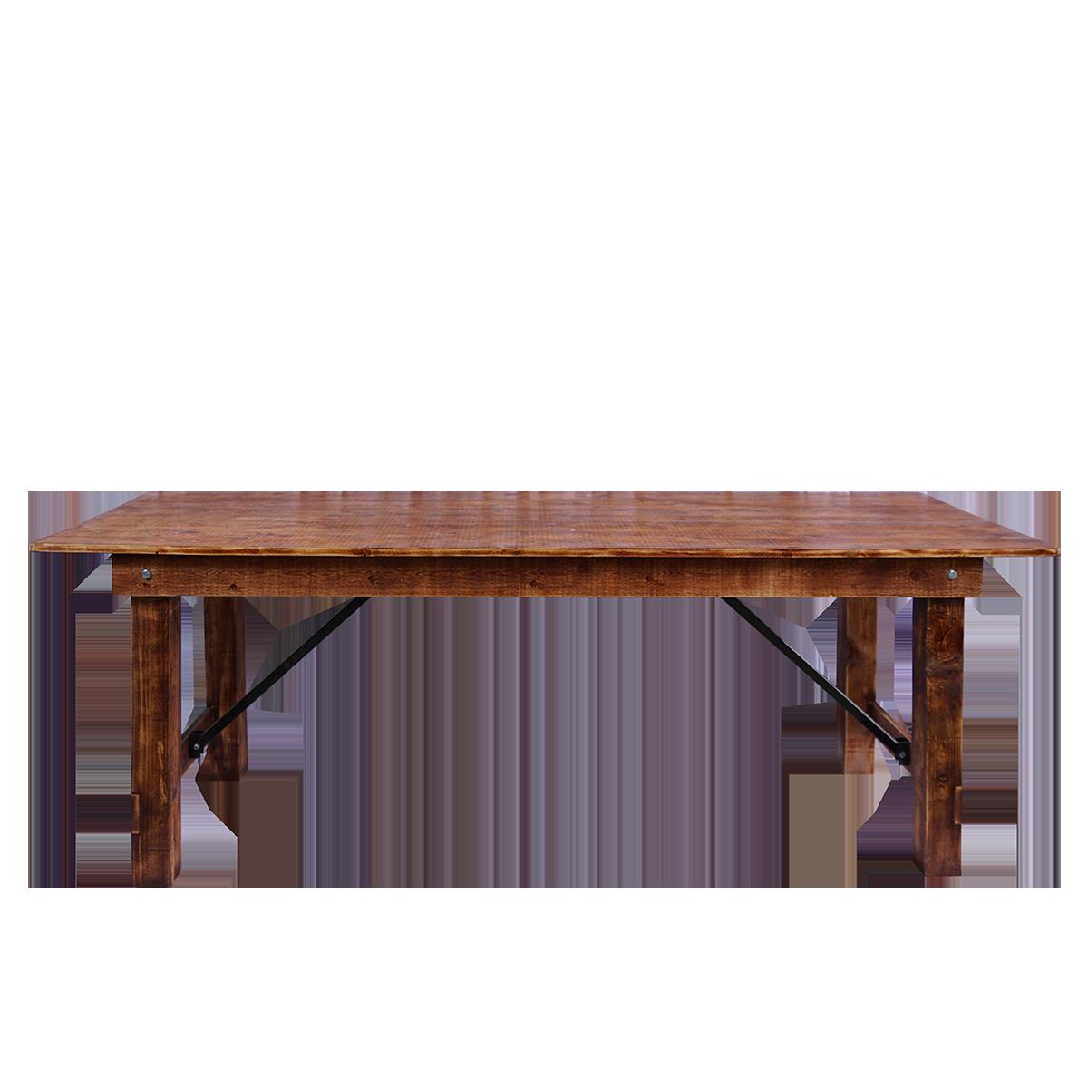 "Farmhouse Edition Tisch, Echtholz ""Old Oak"", 220 x 80 x 80 cm"