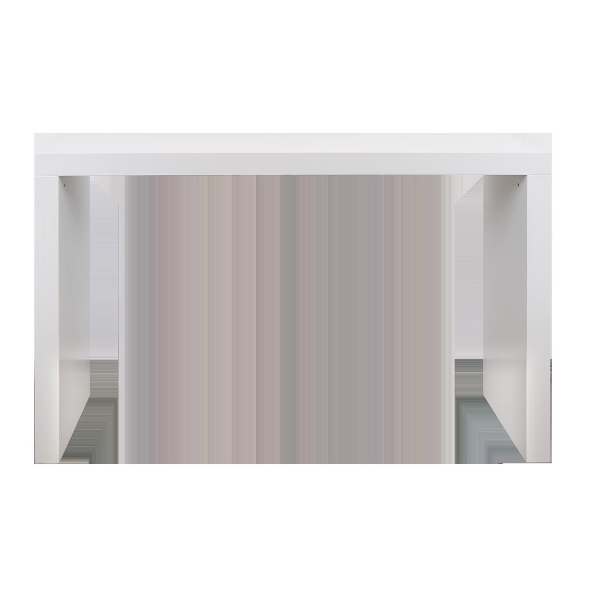 Stehbrücke, weiß, 180 x 60 cm
