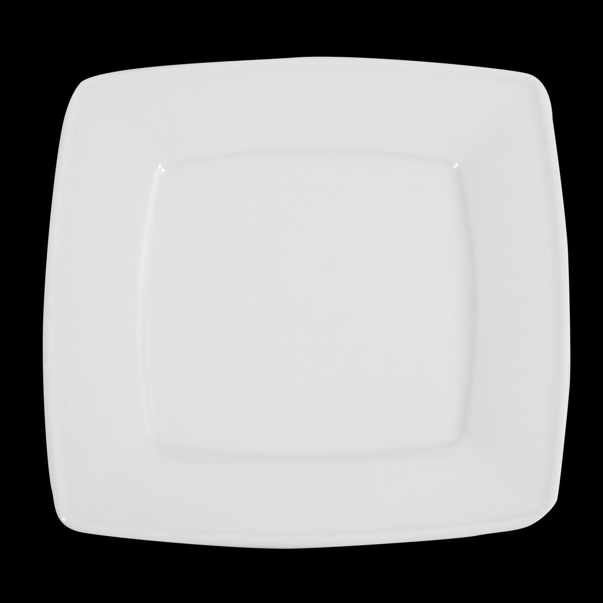 Menüteller Ambrassador, weiß, 26 cm