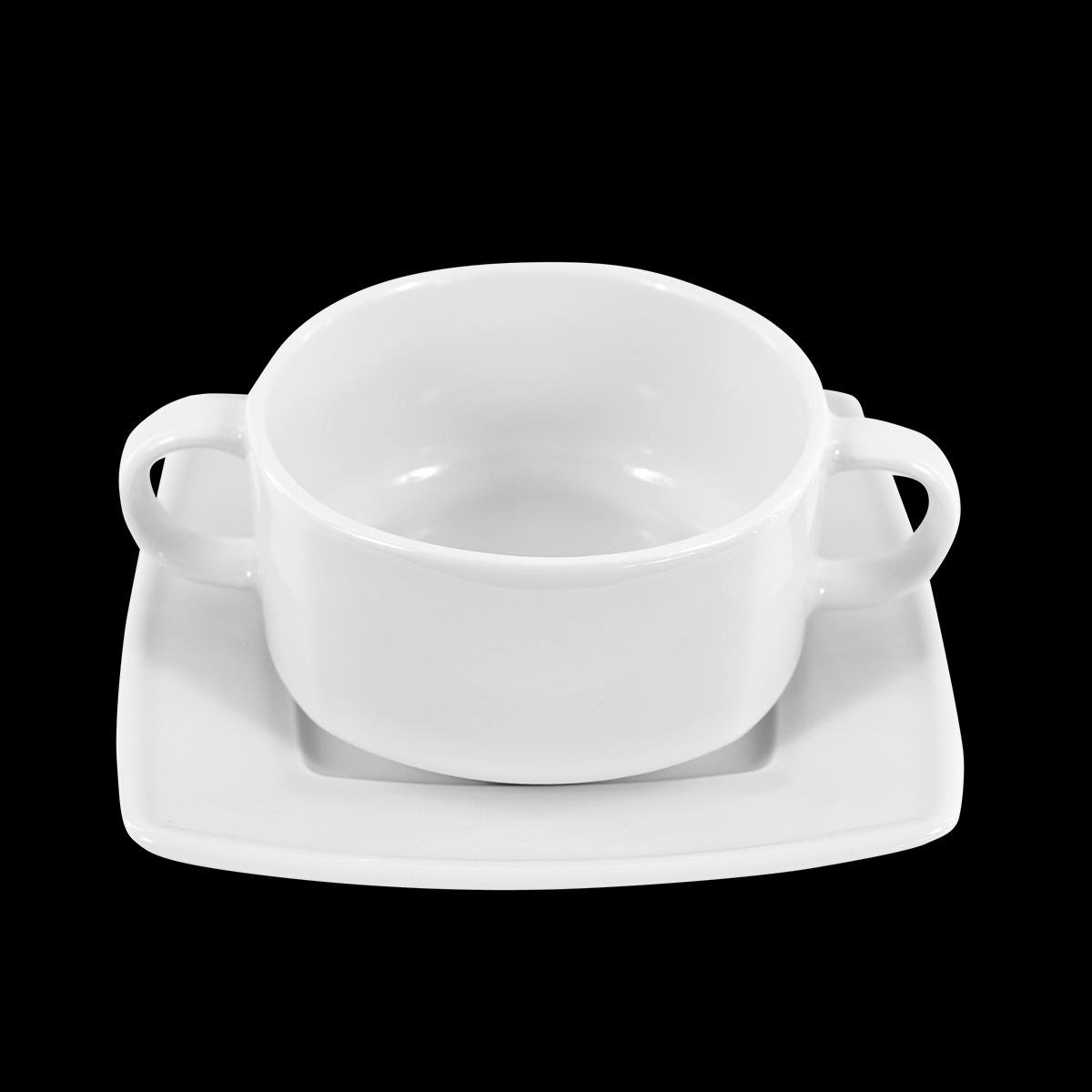 Suppentasse Ambrassador, weiß, 250 ml
