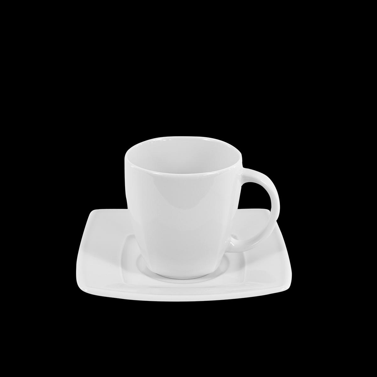 Kaffeetasse Ambrassador, weiß, 150 ml