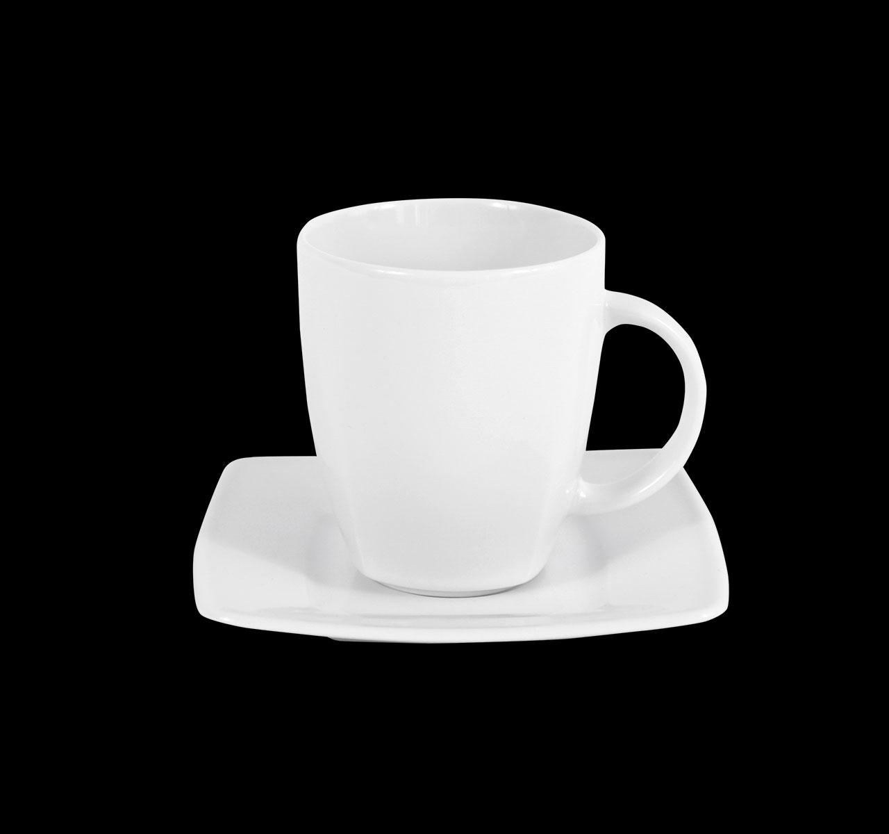 Kaffeetasse Ambrassador, weiß, 180 ml