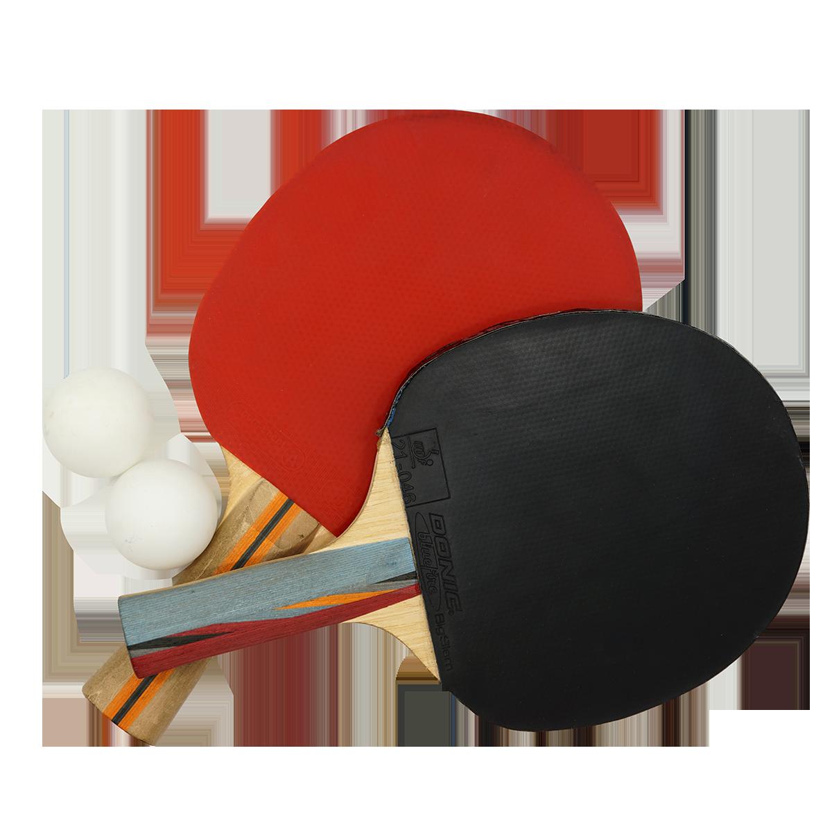 Tischtennisplatte mit 8 Schläger und 5 Bälle